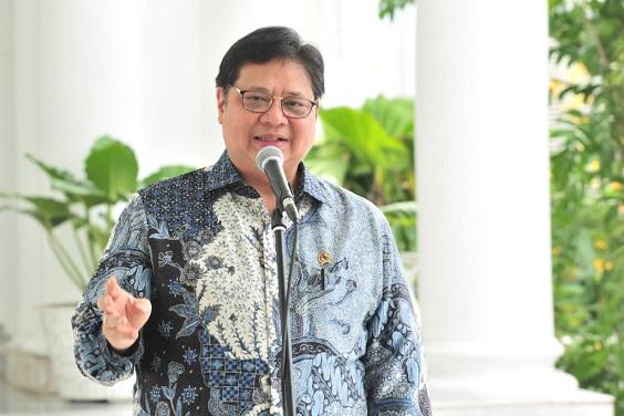 Menteri Koordinator Bidang Perekonomian, Airlangga Hartarto